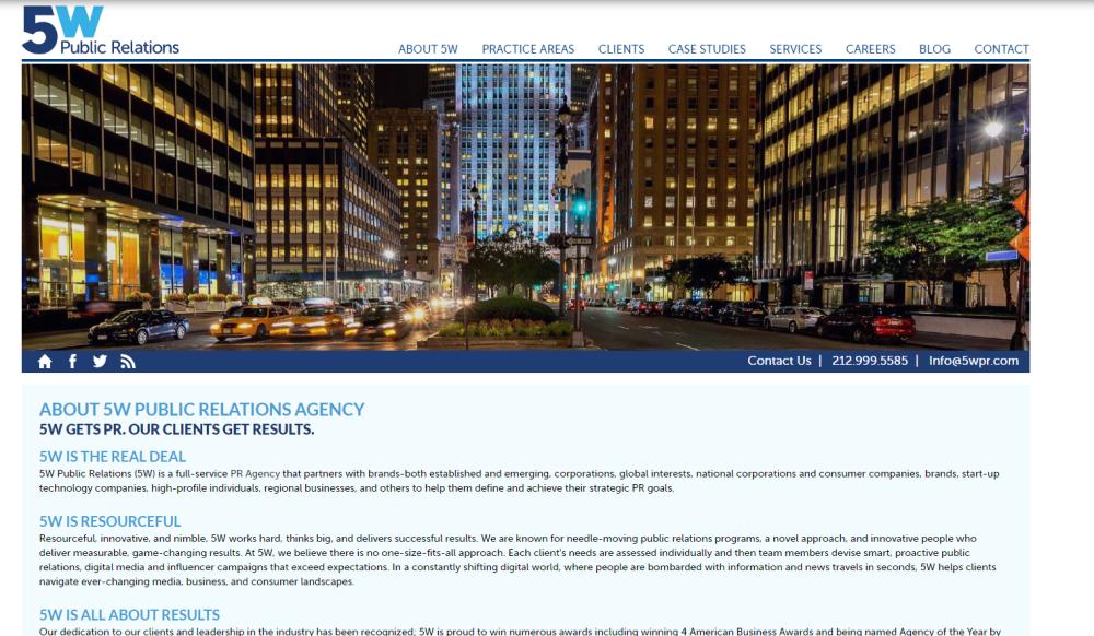 5W PR Agency blog