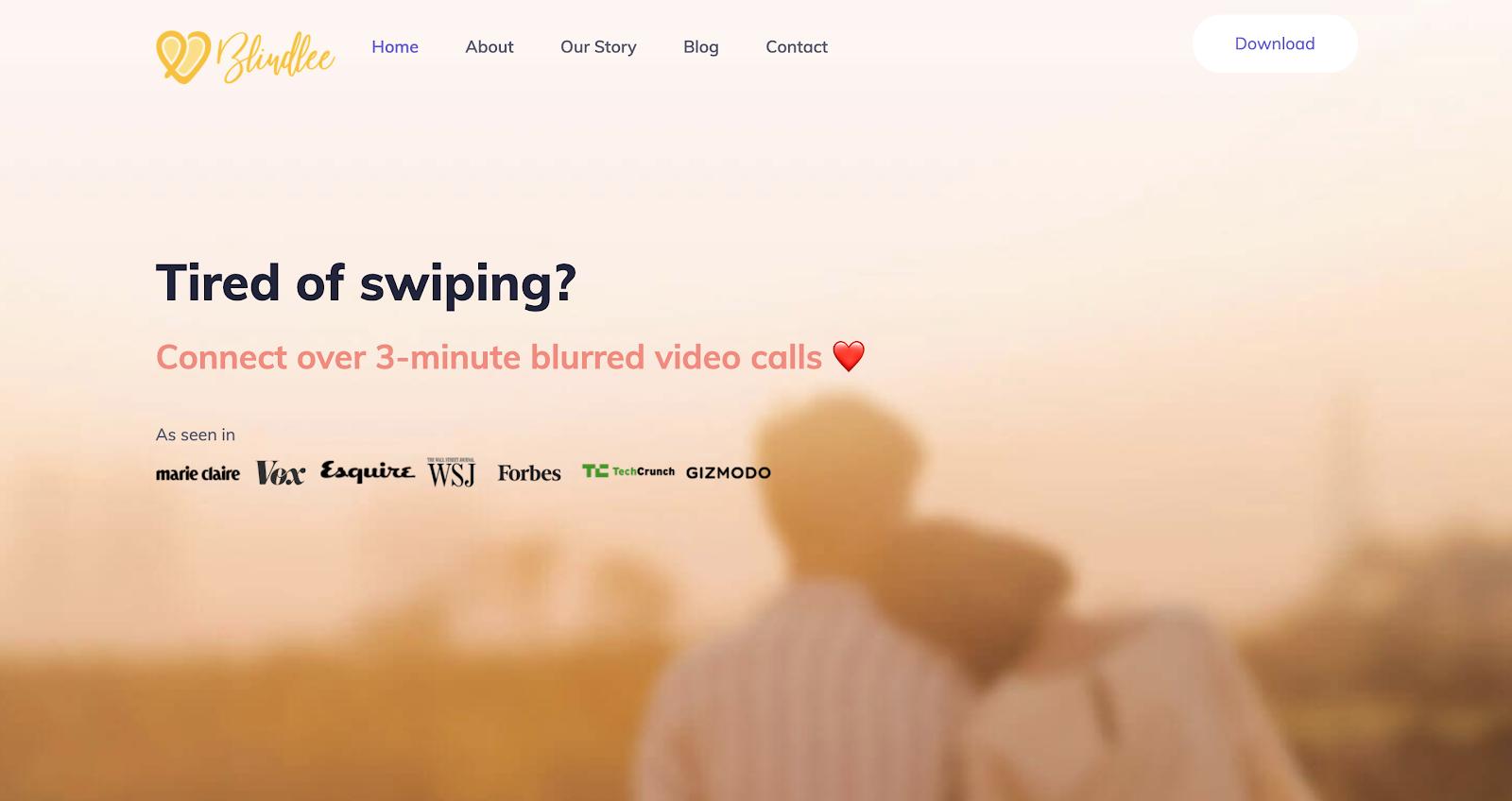 Blindlee Homepage