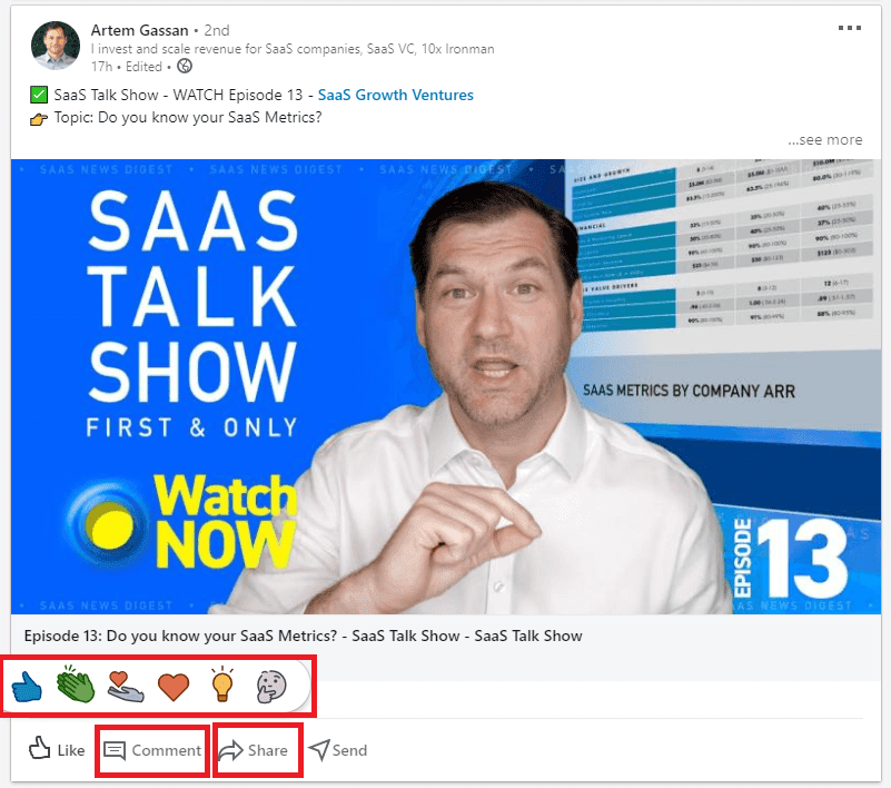 Connect Through LinkedIn
