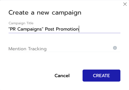 Create a New Campaign With Respona