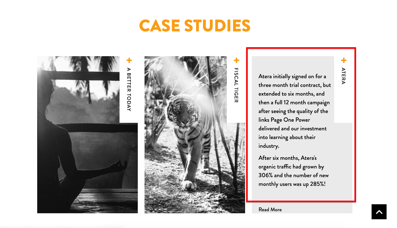 Page One Power case studies