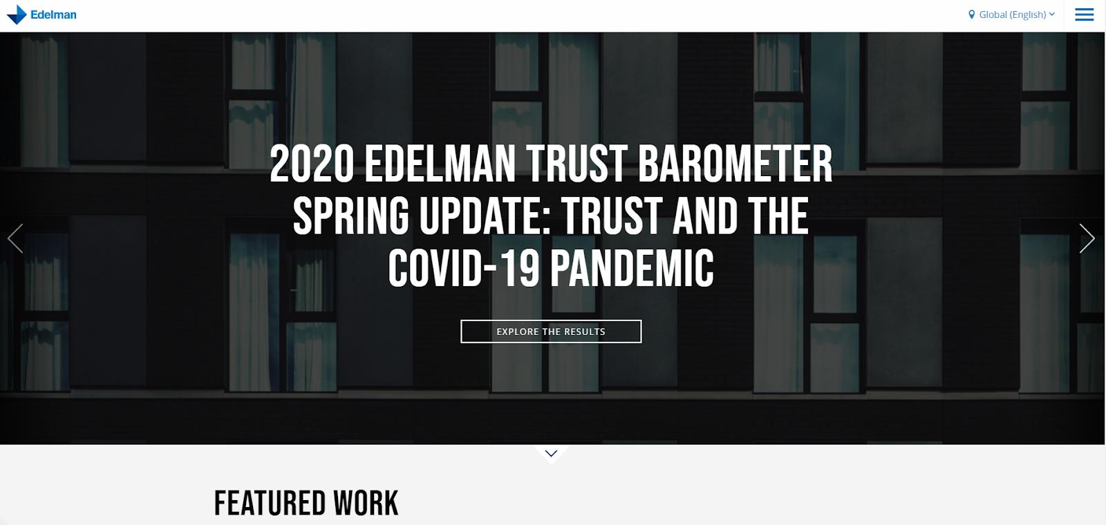Edelman Home Page