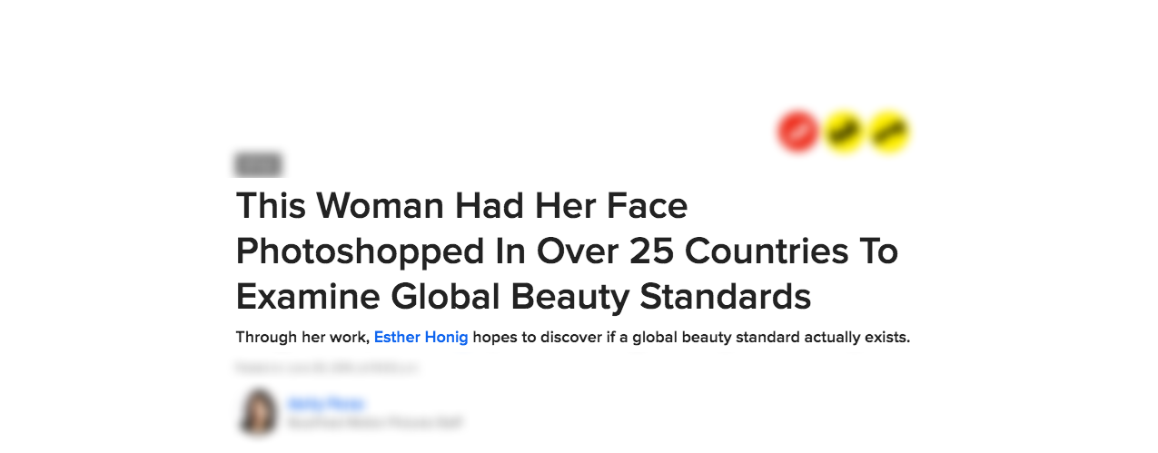 Ester Honig Feature on Buzzfeed