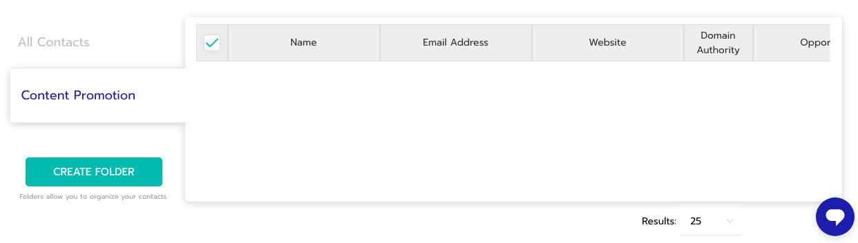 Folder Under the Name Content Promotion Inside Respona