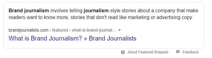 Google Image What Is Brand Journalism.