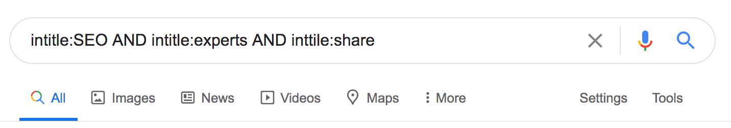 Google Search Tag
