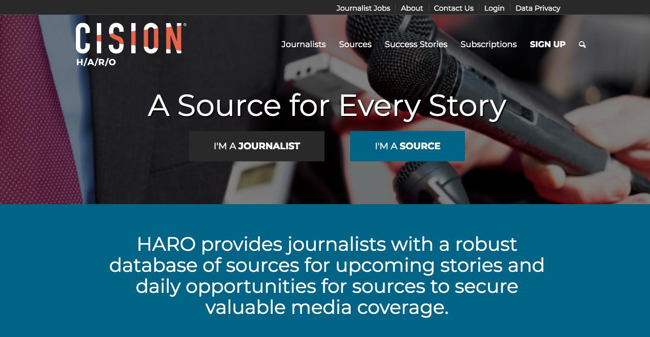 HARO Homepage