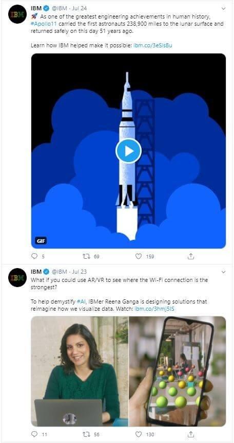 IBM Tweets