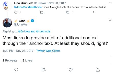 John Muellers Tweet