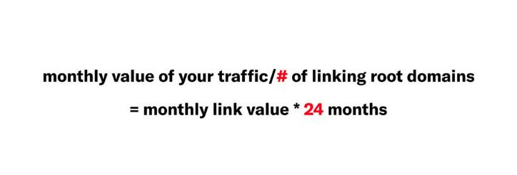 Link Value Ratio Formula by Siege Media