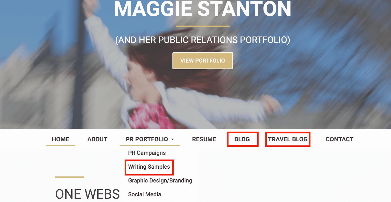 Maggie Stanton PR Portfolio