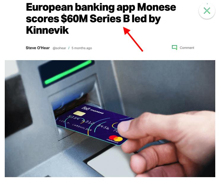 Monese Raises 60 Million in Series B