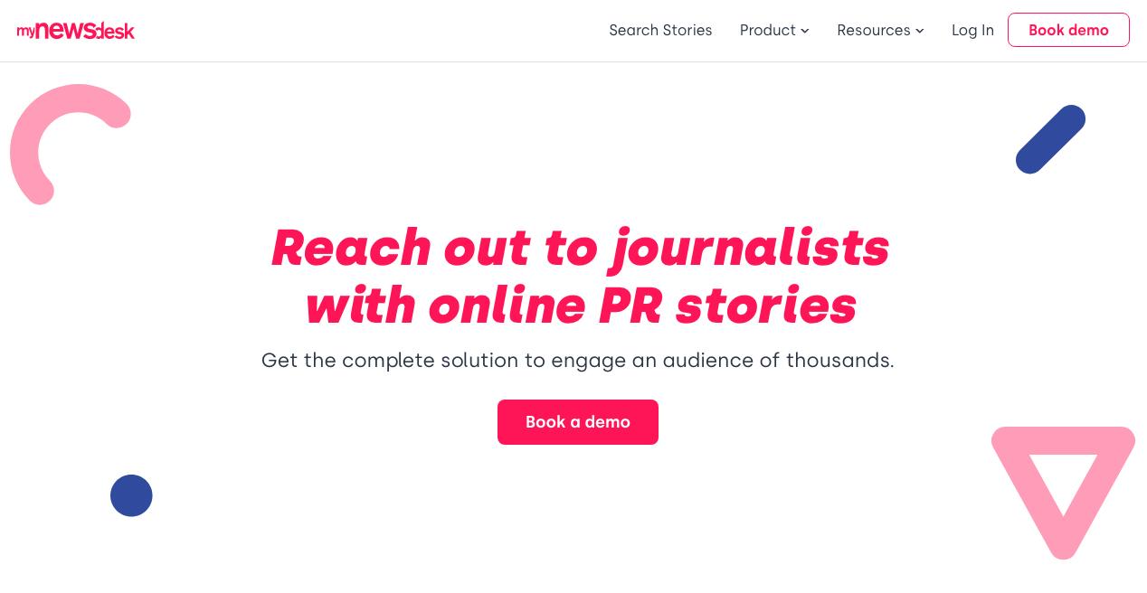 Mynewsdesk Home Page
