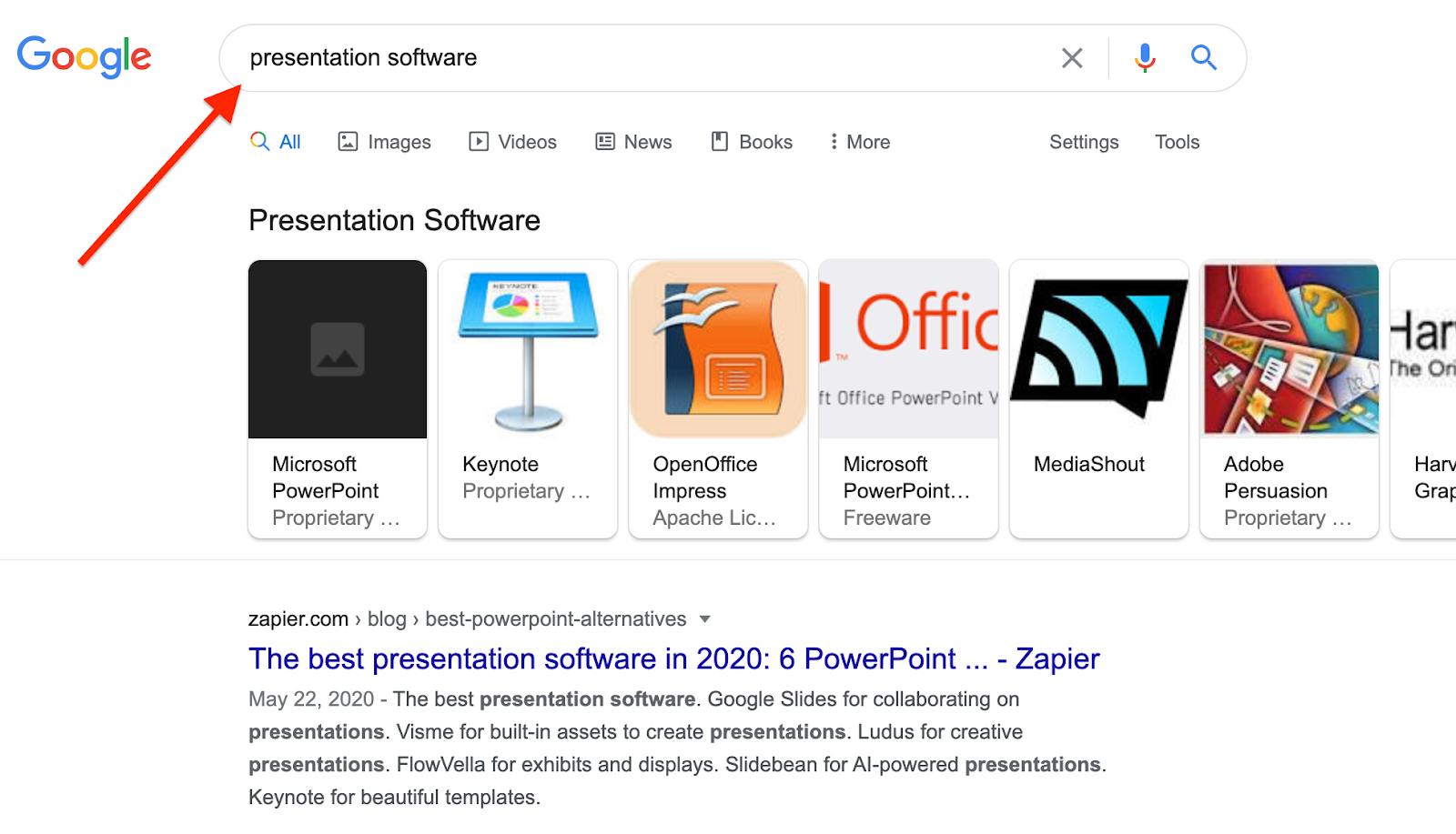 Presentation Software Google Search