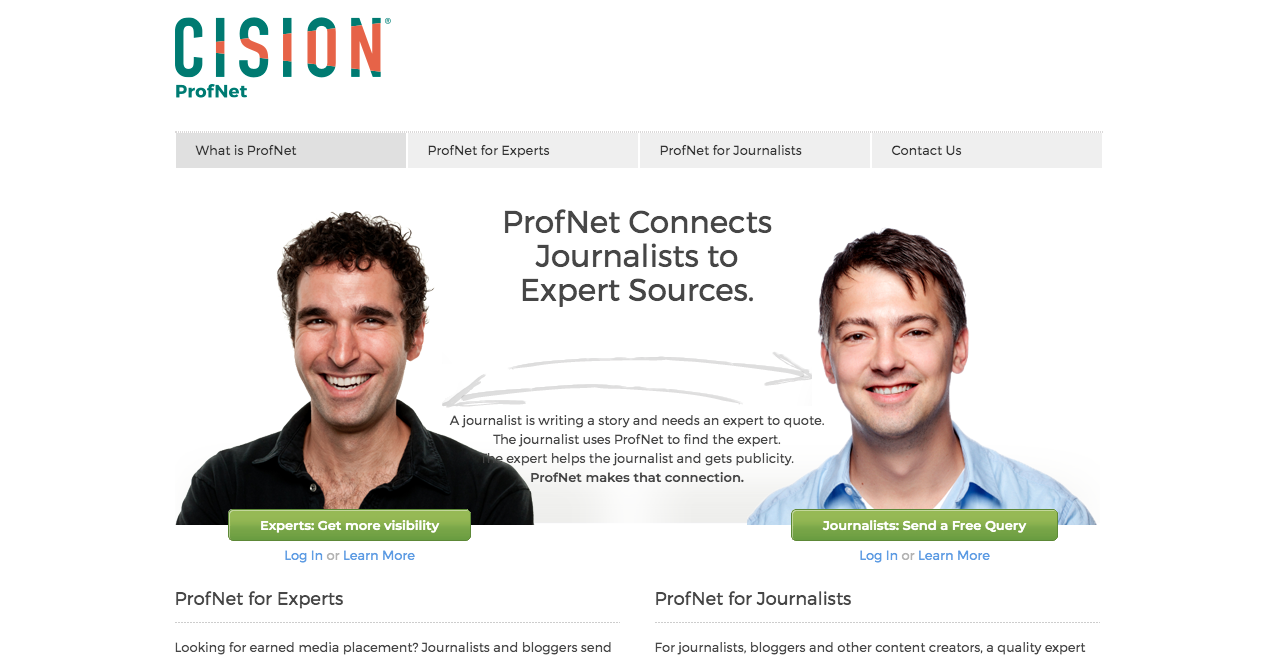 ProfNet Home Page