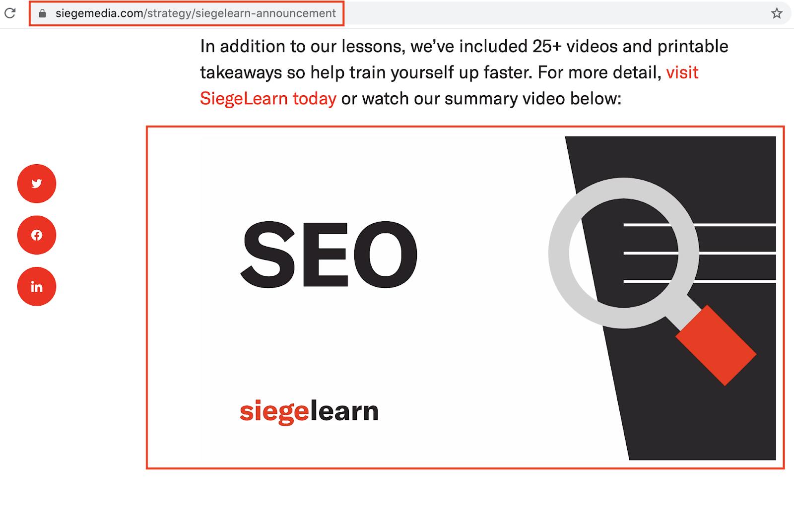 SiegeMedia SiegeLearn Announcement