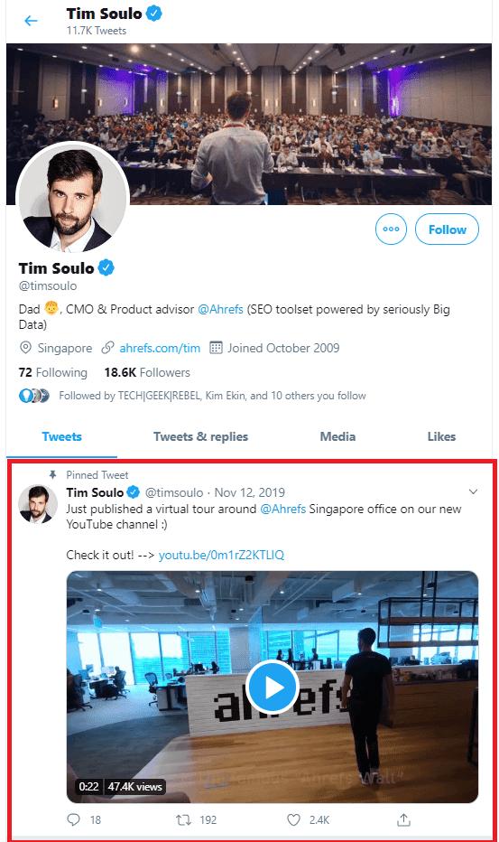Tim Soulo Twitter