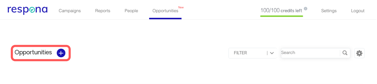 Adding opportunities