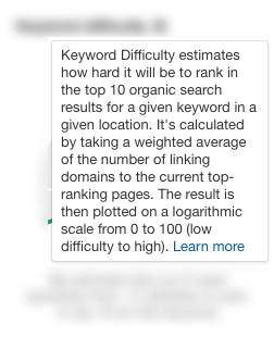 What is Keyword Difficulty by Ahrefs 1