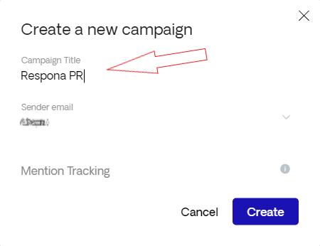 Naming a PR campaign