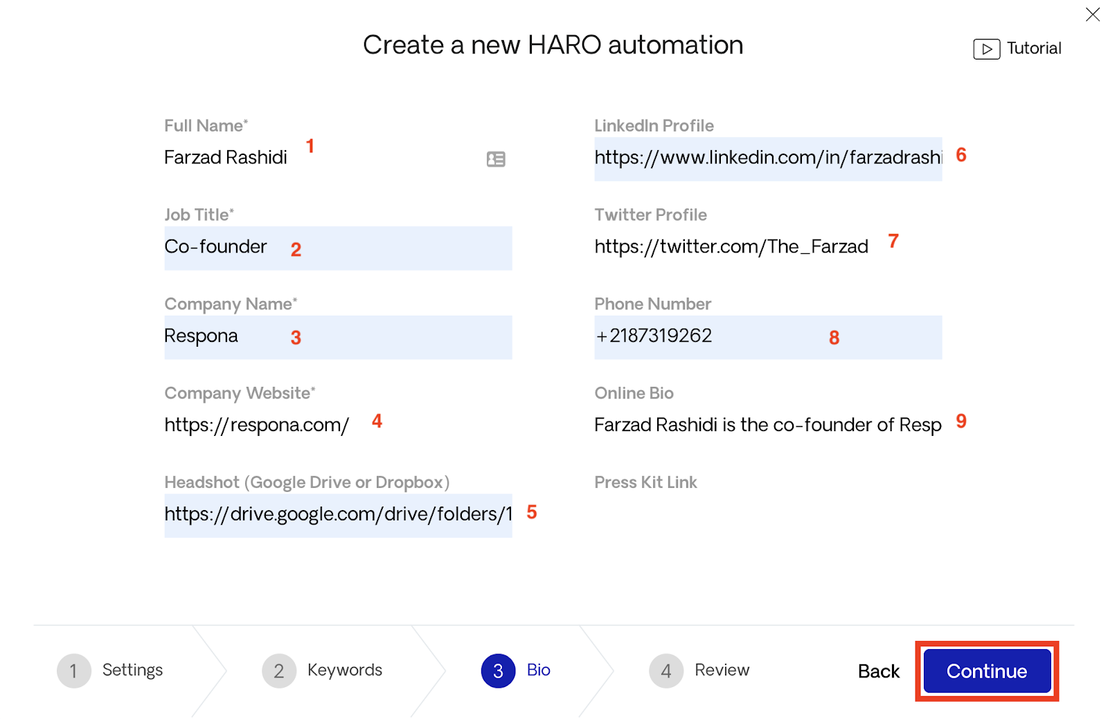 Continuing HARO automation 3