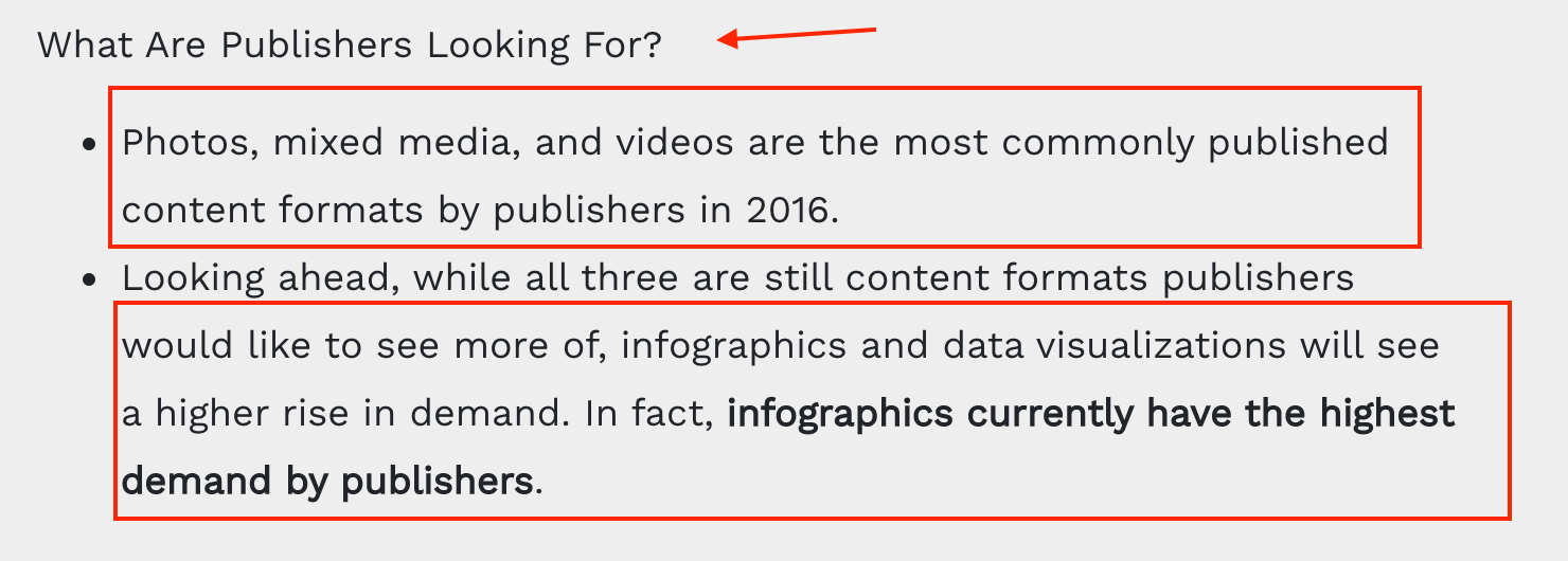 fractl what publishers are looking for