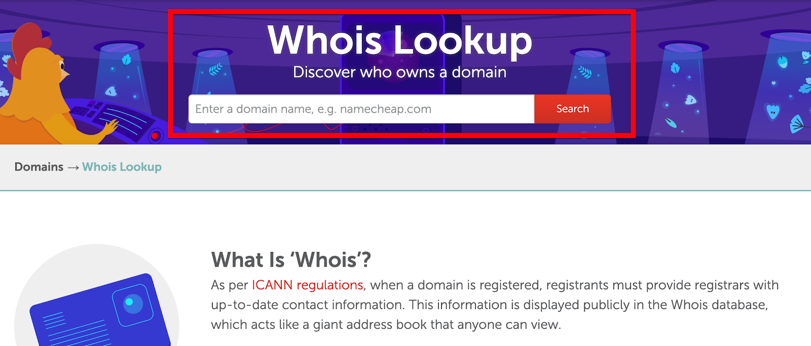 WHOIS lookup 2