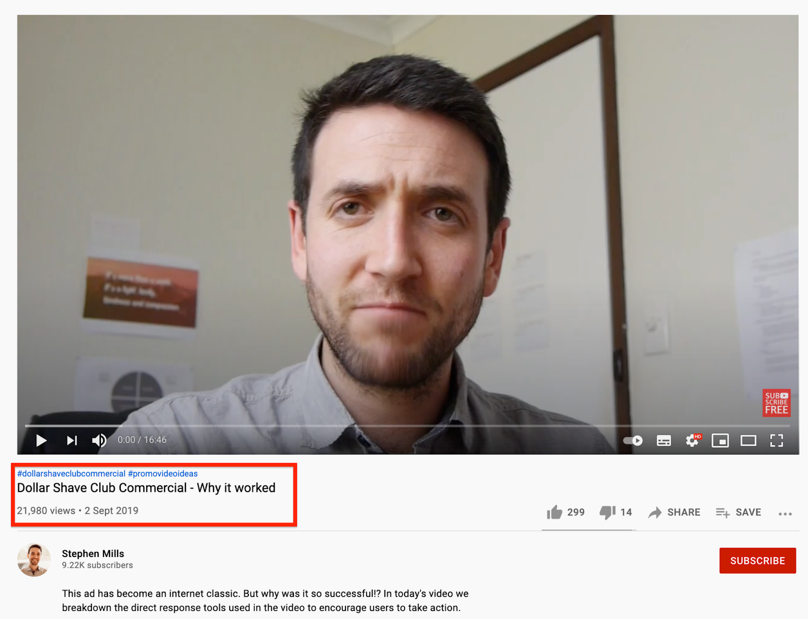 Dollar Shave Club commercial analysis