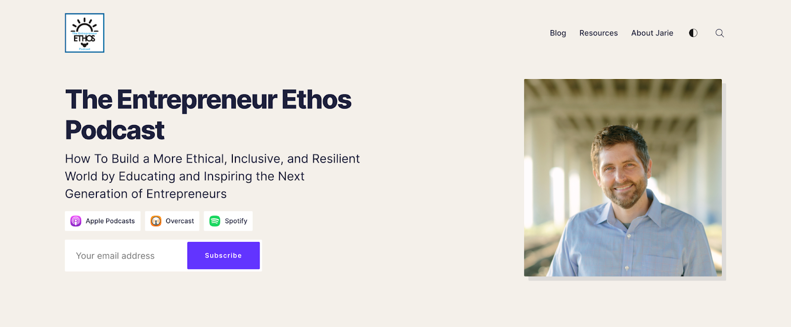 Entreprenuer Ethos podcast