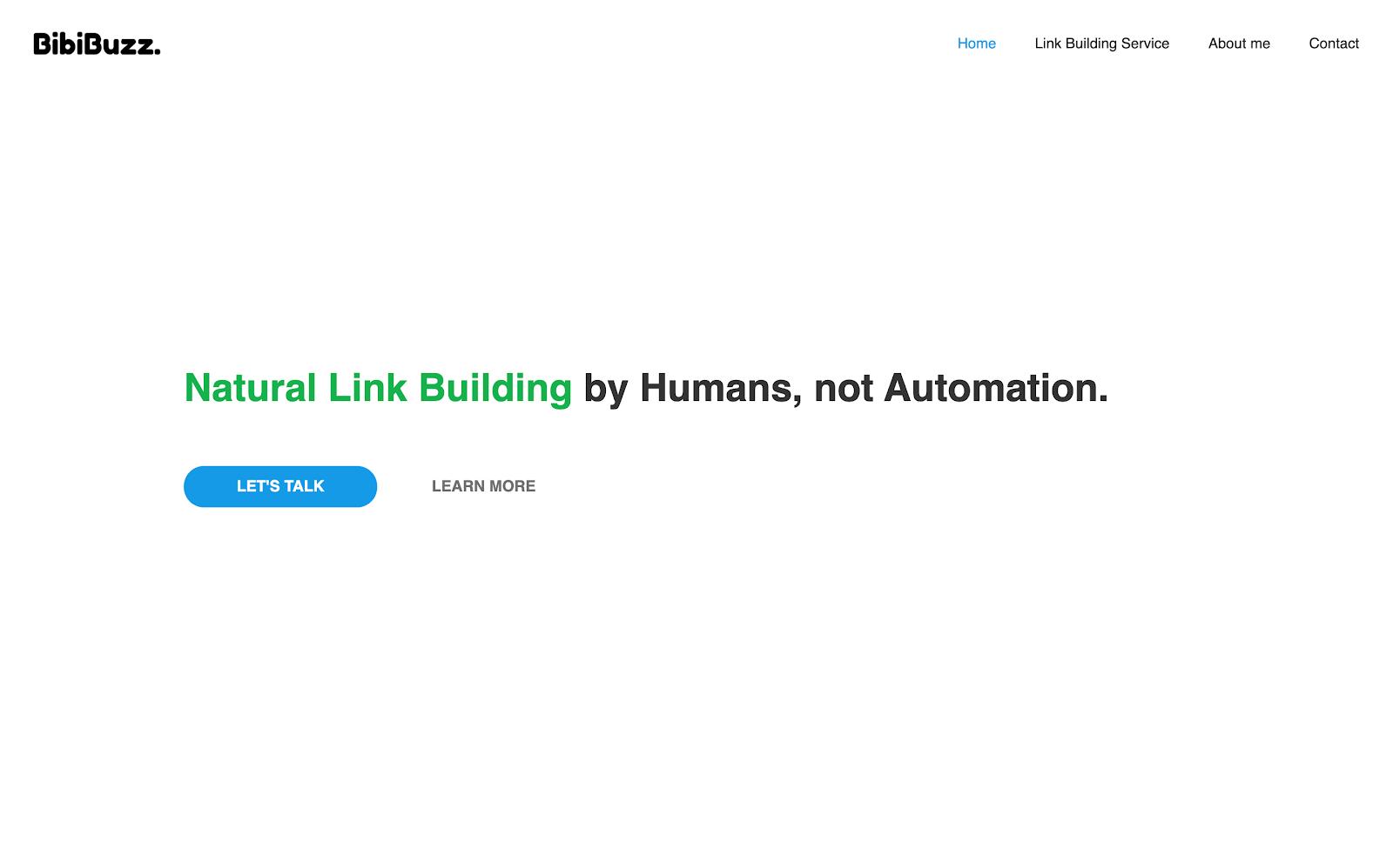 BibiBuzz home page