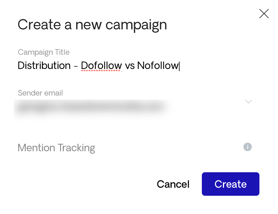 Naming a content distribution campaign