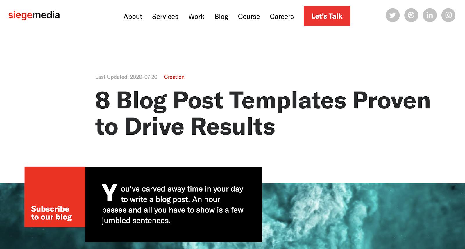 SiegeMedia blog