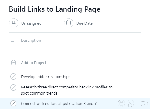 link building list