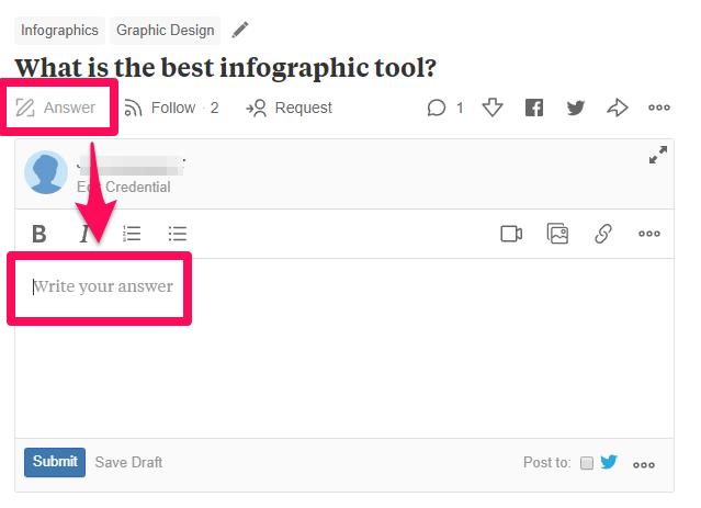 Quora answer