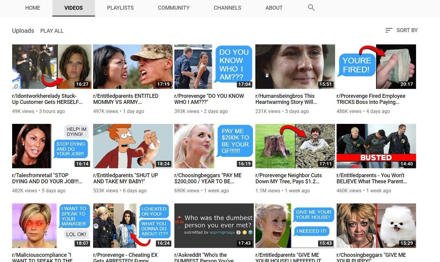 rslash example thumbnails