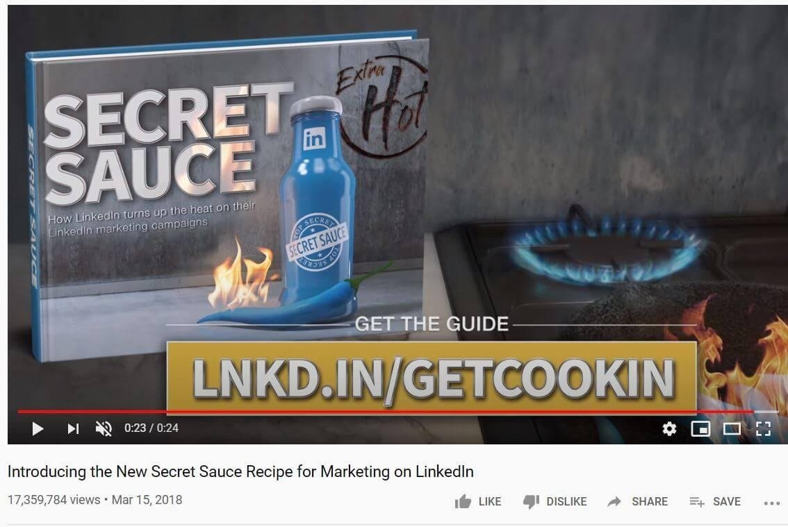 LinkedIn Youtube video 2